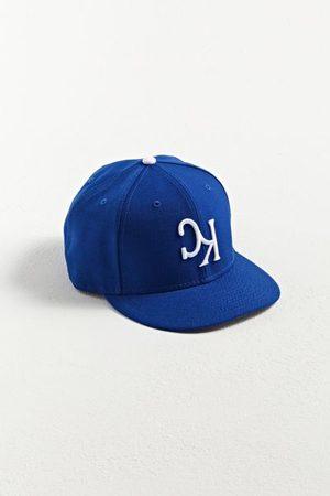 New Era Men Hats - Kansas City Royals Upside-Down Logo Fitted Baseball Hat