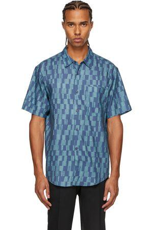 Tiger of Sweden Men Short sleeves - Blue Didon Short Sleeve Shirt