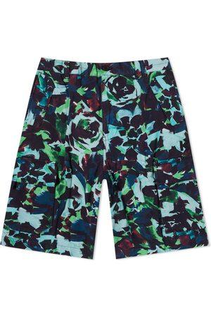 Kenzo Men Shorts - Printed Cargo Short