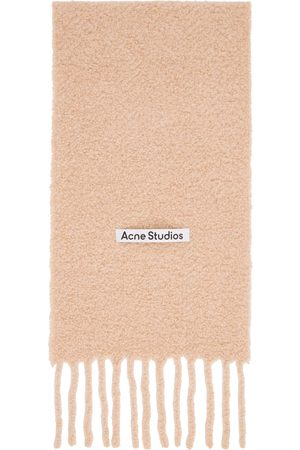 Acne Studios Pink Large Boucle Scarf