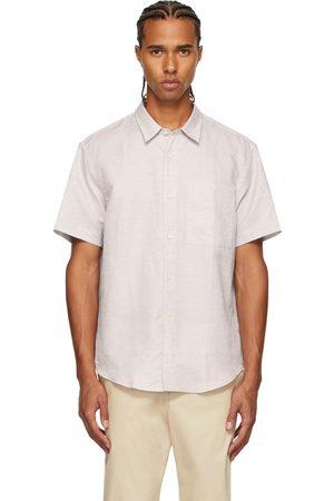 Tiger of Sweden Men Short sleeves - Taupe Didon Short Sleeve Shirt
