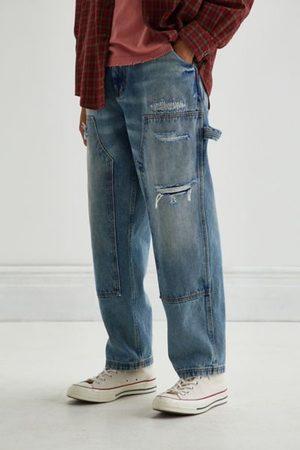 BDG Men Jeans - Deconstructed Double Knee Jean - Land Wash