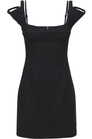 Jacquemus La Robe Kibo Linen & Viscose Mini Dress