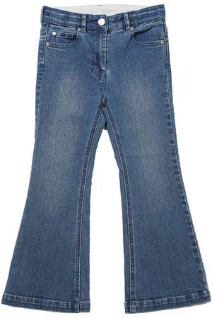 Stella McCartney High Waist Flare Cotton Jeans