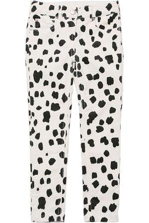 Stella McCartney Dalmatian Print Corduroy Cotton Pants