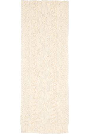 Maison Margiela Off-White Wool Scarf