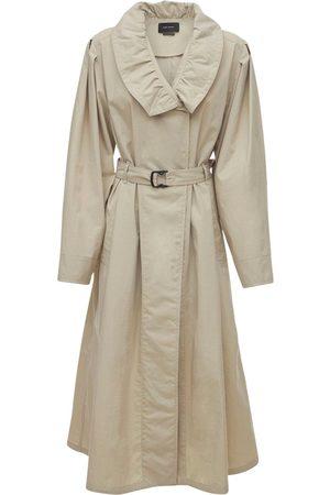 Isabel Marant Women Trench Coats - Dipanima Nylon Trench Coat