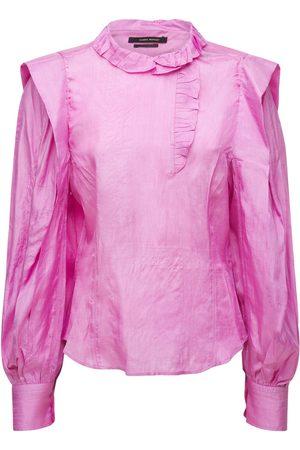 Isabel Marant Women Blouses - Chadra Tussar Silk Blouse
