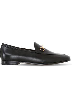 Gucci 10mm Jordaan Horsebit Leather Loafers