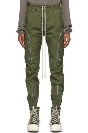 Rick Owens Men Cargo Pants - Green Bauhaus Cargo Pants