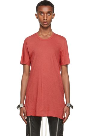 Rick Owens Pink Basic Short Sleeve T-Shirt