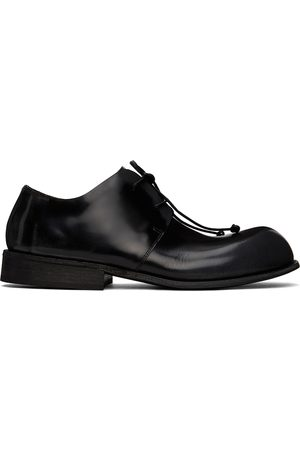 MARSÈLL Men Formal Shoes - Black Polished Muso Derbys