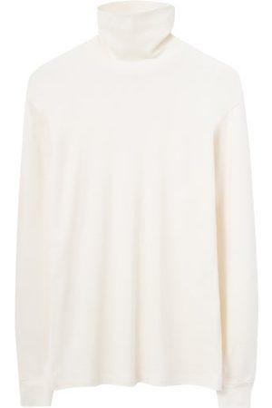 LEMAIRE Men Long Sleeve - High-neck Jersey Long-sleeved T-shirt - Mens