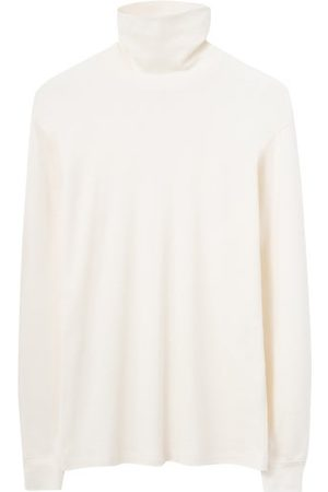 LEMAIRE Men Long sleeves - Roll-neck Cotton-jersey Long-sleeve Top - Mens