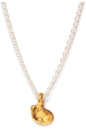 Alighieri Women Necklaces - The Unwinding Answer 24kt -plated Necklace - Womens