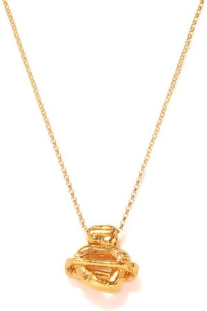 Alighieri Women Necklaces - The Light Years 24kt -plated Necklace - Womens