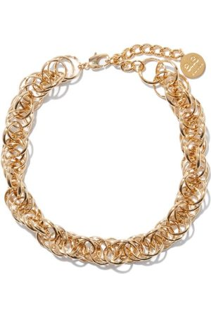 BY ALONA Women Necklaces - Celeste 18kt -plated Chain-link Necklace - Womens