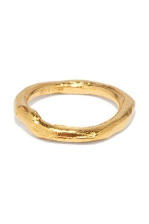 Alighieri Women Rings - The Gaze Of The Satellite 24kt -plated Ring - Womens