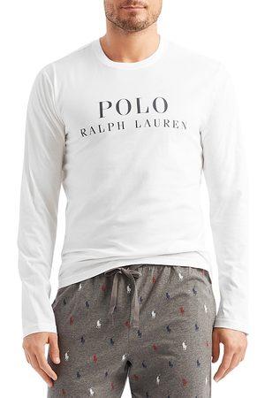 Polo Ralph Lauren Men Long Sleeve - Cotton Logo Graphic Long Sleeve Sleep Tee