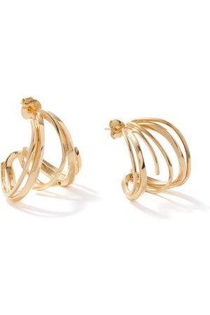 COMPLETEDWORKS Flow Ii -plated Recycled-silver Hoop Earrings - Womens