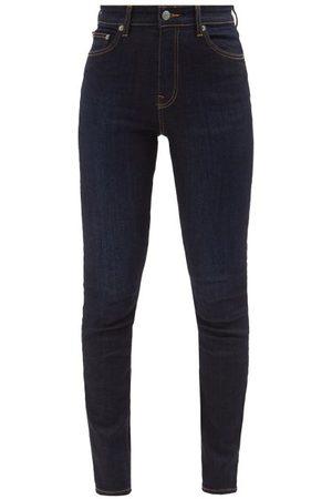 BROCK COLLECTION Women High Waisted - James High-rise Slim-leg Jeans - Womens - Navy