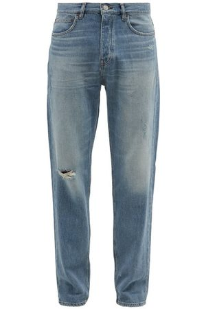 Frame Men Straight - Distressed Straight-leg Jeans - Mens