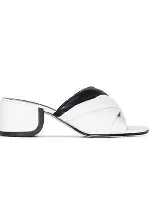 Nicholas Kirkwood Women Mules - Monochrome 55mm mule sandals