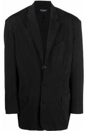 Balenciaga Worn-out single-breasted blazer