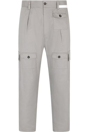 Dolce & Gabbana Cropped cargo trousers - Grey