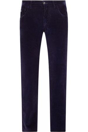 Dolce & Gabbana Men Straight Leg Pants - Corduroy straight-leg trousers