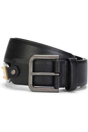 Dolce & Gabbana Men Belts - Leather buckle belt