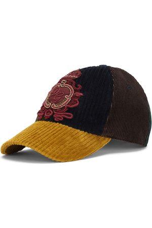 Dolce & Gabbana Men Caps - Appliqué panelled cap