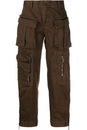 Dsquared2 Women Cargo Pants - Straight-leg cargo trousers