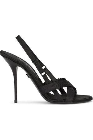 Dolce & Gabbana Women Sandals - 105mm cross-strap sandals