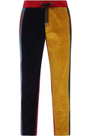 Dolce & Gabbana Colour-block drawstring trousers