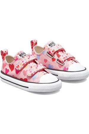 Converse Sneakers - Girls' Heart Print All Star Sneakers - Baby, Walker, Toddler