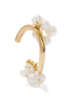 COMPLETEDWORKS P27 Pearl & -plated Recycled-silver Ear Cuff - Womens - Multi