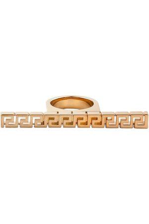 VERSACE Women Rings - Greca bar ring