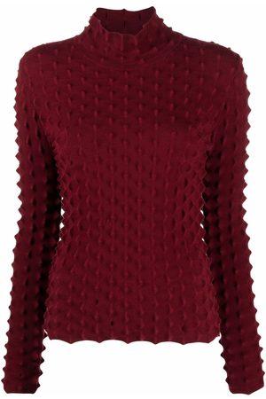 Stella McCartney Women High Necks - Textured-knit high-neck top