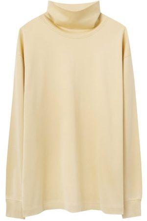 LEMAIRE High-neck Jersey Sweatshirt - Mens - Light