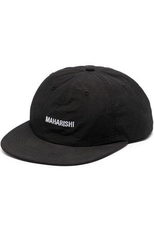 Maharishi Logo-embroidered stitched cap