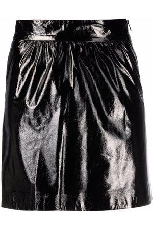 Pinko Women Mini Skirts - High-shine mini skirt