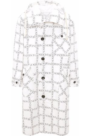 J.W.Anderson All over logo print parka