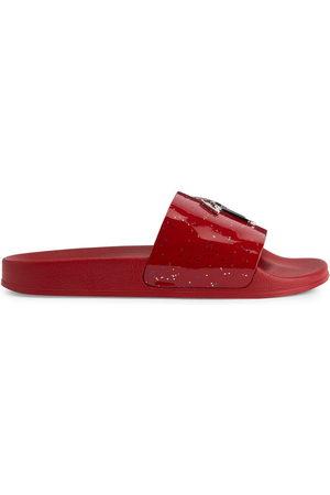 Giuseppe Zanotti Men Sandals - Brett patent leather slides