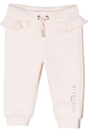 Givenchy Sweatpants - Logo-print tapered track pants