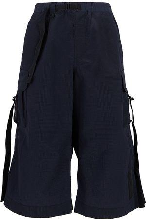 Y-3 Men Shorts - CH2 Sporty seersucker shorts