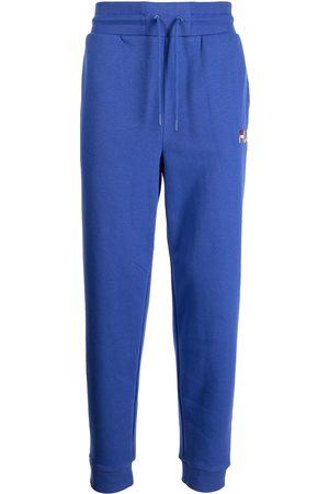 Fila Logo-embroidered slim-fit track pants