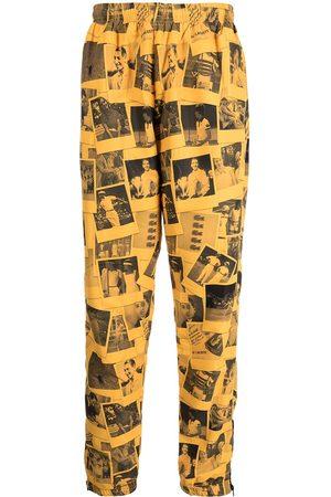 Lacoste Men Sweatpants - Polaroid-print track trousers