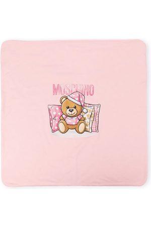 Moschino Sleeping teddy bear blanket