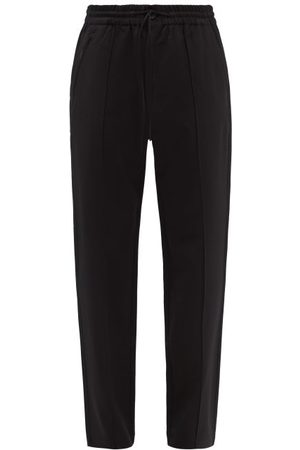 Y 3 - Relaxed Stretch Wool-blend Trousers - Mens